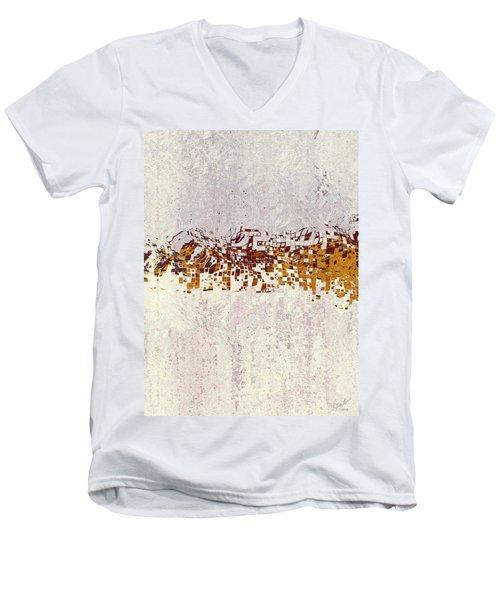 Insync 2 Men's V-Neck T-Shirt by The Art Of JudiLynn