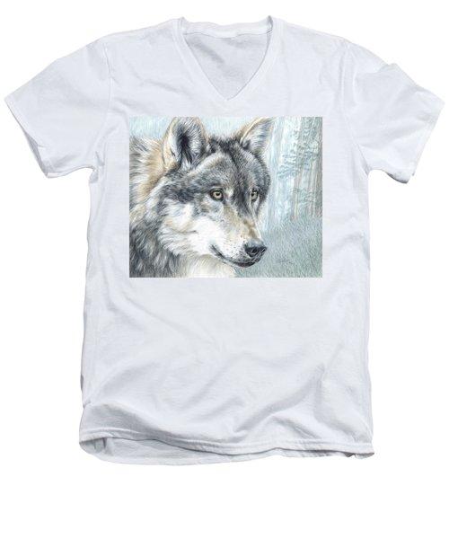 Intent Eyes Men's V-Neck T-Shirt
