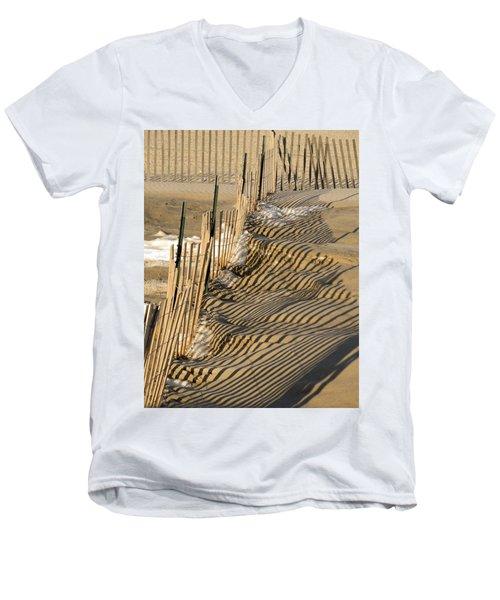 Intersection Men's V-Neck T-Shirt