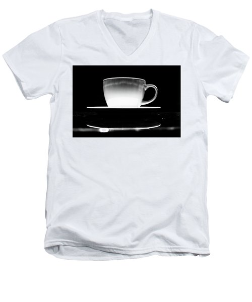 Intimidating Cup Of Coffee Men's V-Neck T-Shirt