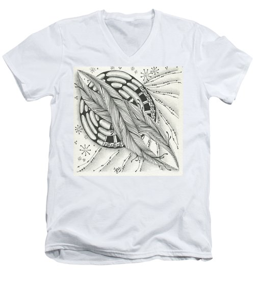 Into Orbit Men's V-Neck T-Shirt