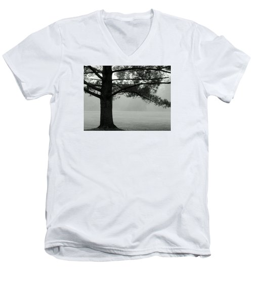 Into The Grey Wide Open Men's V-Neck T-Shirt