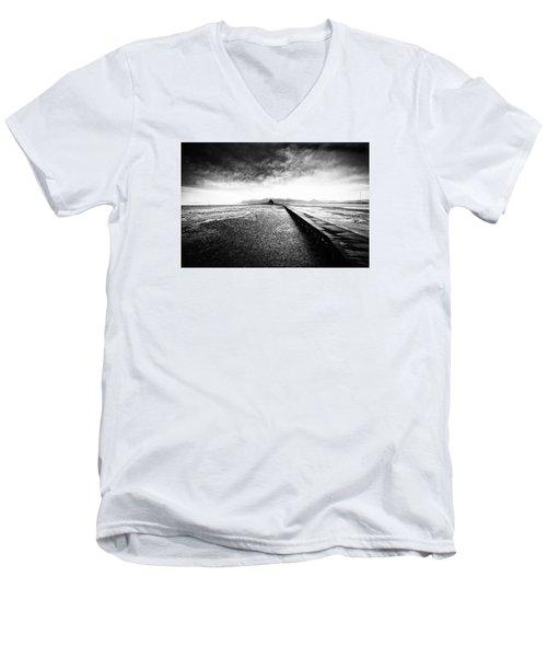 Into The Landscape Men's V-Neck T-Shirt