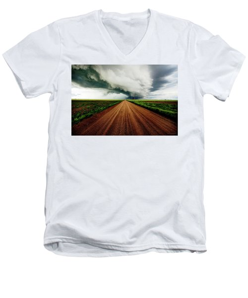 Into The Storm Men's V-Neck T-Shirt