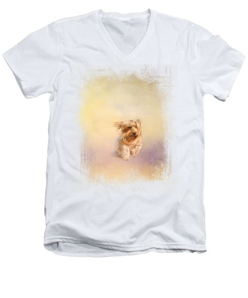 Into The Wind Men's V-Neck T-Shirt