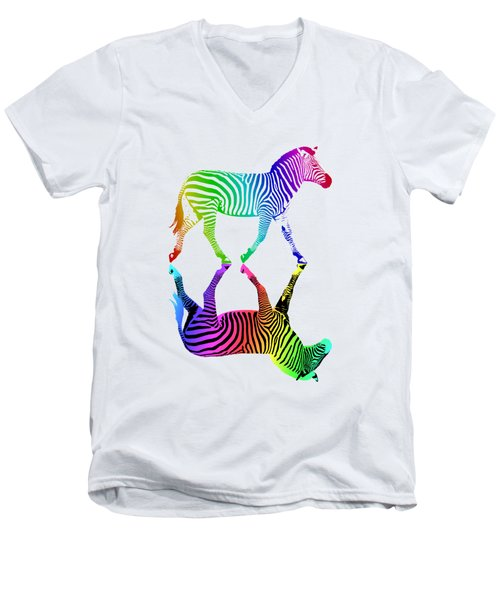 Inversion Men's V-Neck T-Shirt
