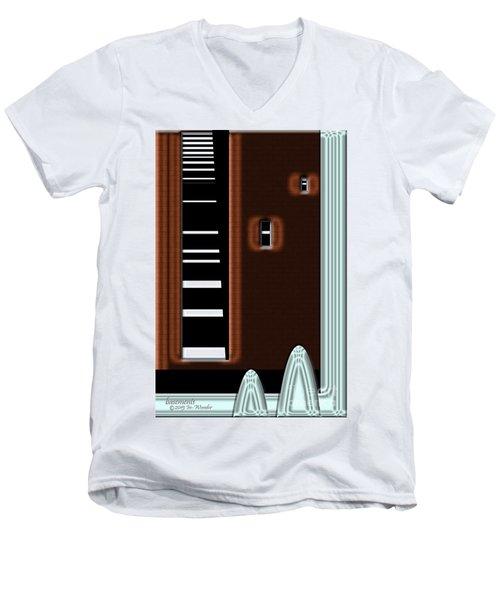 Inw_20a6472_basements Men's V-Neck T-Shirt