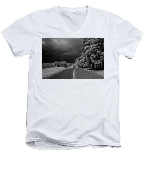 Iowa Sac Fox Drive Men's V-Neck T-Shirt