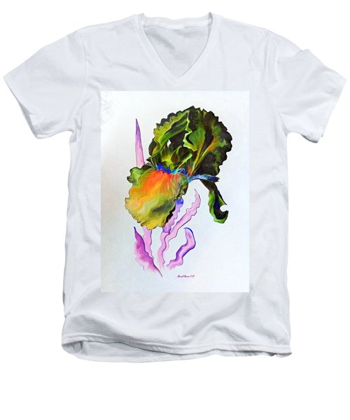 Iris Of A Different Color Men's V-Neck T-Shirt