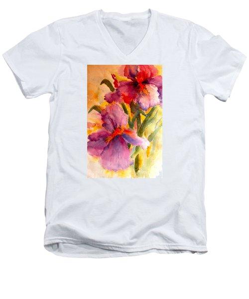 Iris Twins Men's V-Neck T-Shirt