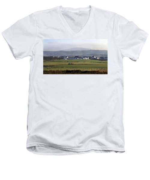 Irish Sheep Farm II Men's V-Neck T-Shirt