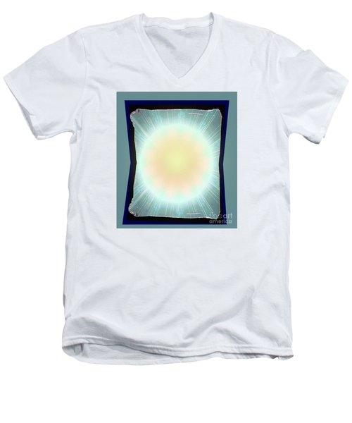Irregular Sun Men's V-Neck T-Shirt