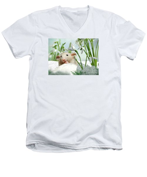 Is It Spring Yet ? Men's V-Neck T-Shirt