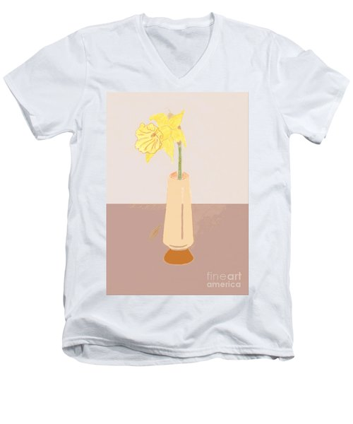 Island Daffodil Men's V-Neck T-Shirt