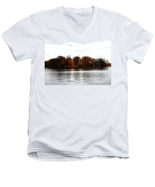 Island Of Trees Men's V-Neck T-Shirt