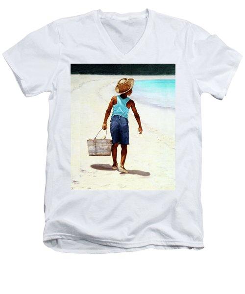 Island Paradise Men's V-Neck T-Shirt