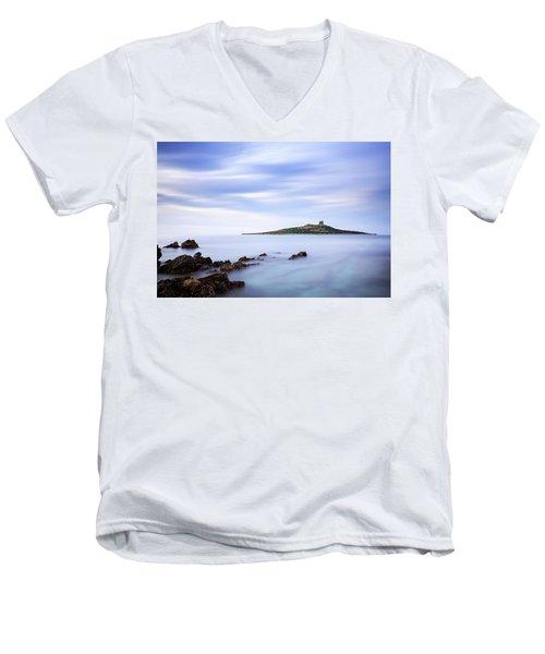 Isola Delle Femmine Men's V-Neck T-Shirt