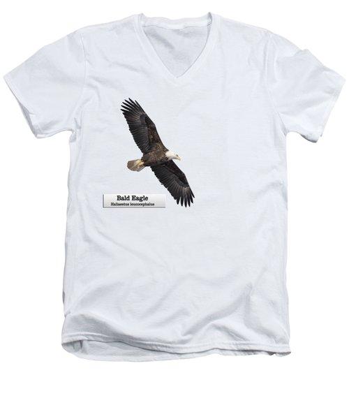 Isolated Bald Eagle 2018-1 Men's V-Neck T-Shirt