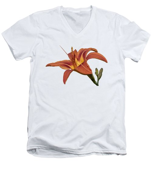 Isolated Lily 2018 Men's V-Neck T-Shirt