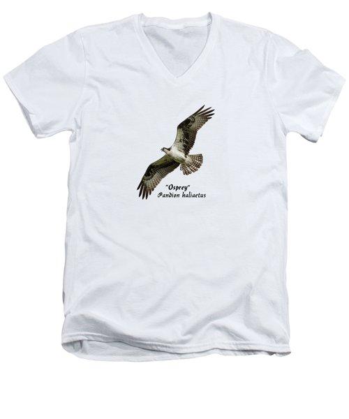 Isolated Osprey 2017-1 Men's V-Neck T-Shirt