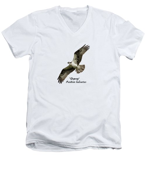 Isolated Osprey 2017-1 Men's V-Neck T-Shirt