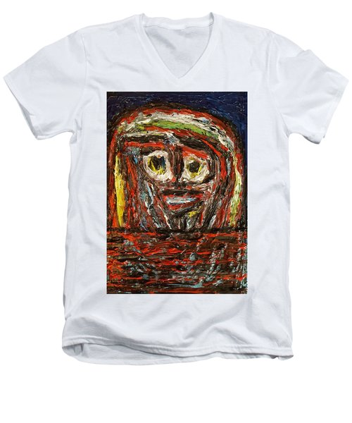 Isolation   Men's V-Neck T-Shirt