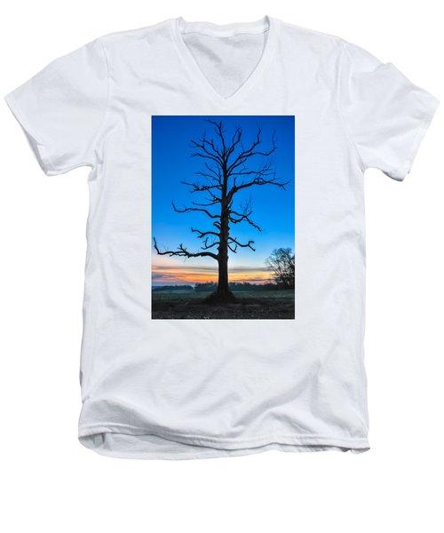 It Endures Men's V-Neck T-Shirt by Wayne King