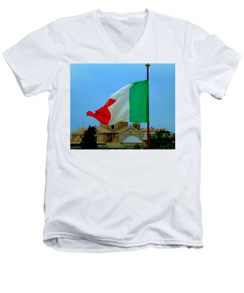 Italian Colors Men's V-Neck T-Shirt