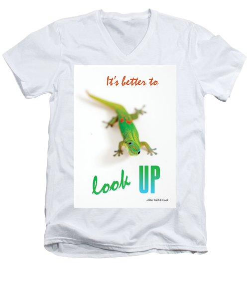 Its Better To Look Up Men's V-Neck T-Shirt