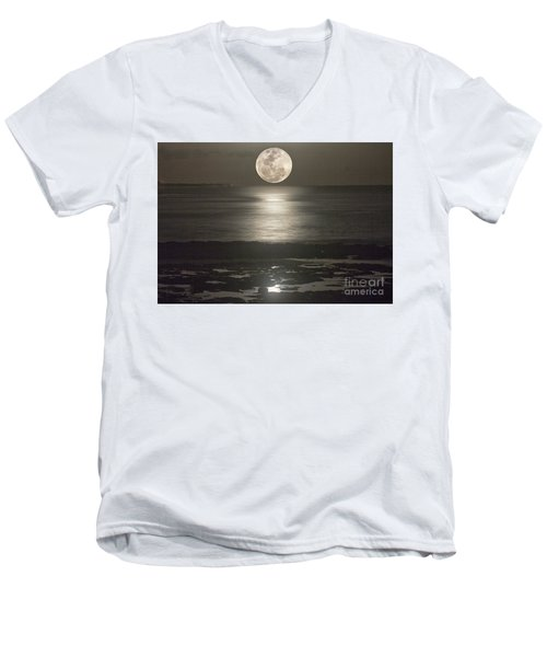 Its Not Just Sunsets Men's V-Neck T-Shirt by Bob Hislop