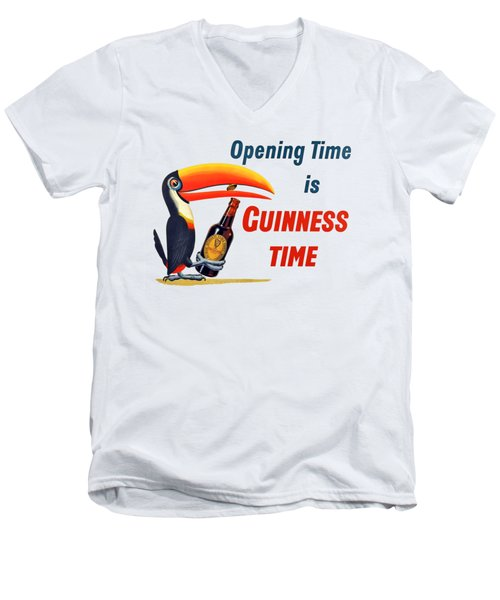 It's Opening Time Men's V-Neck T-Shirt