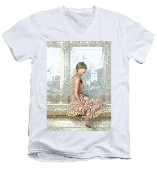 its TS Men's V-Neck T-Shirt