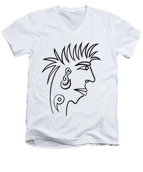 Ivan Men's V-Neck T-Shirt