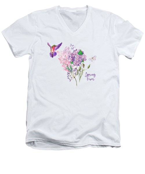 I've Got Spring Fever Men's V-Neck T-Shirt