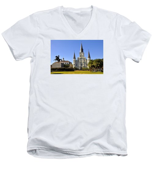 Jackson Square Men's V-Neck T-Shirt