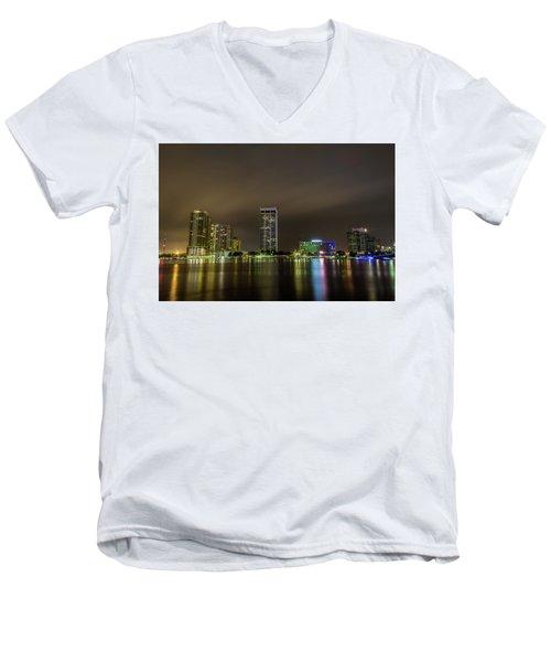 Jacksonville Landing Men's V-Neck T-Shirt