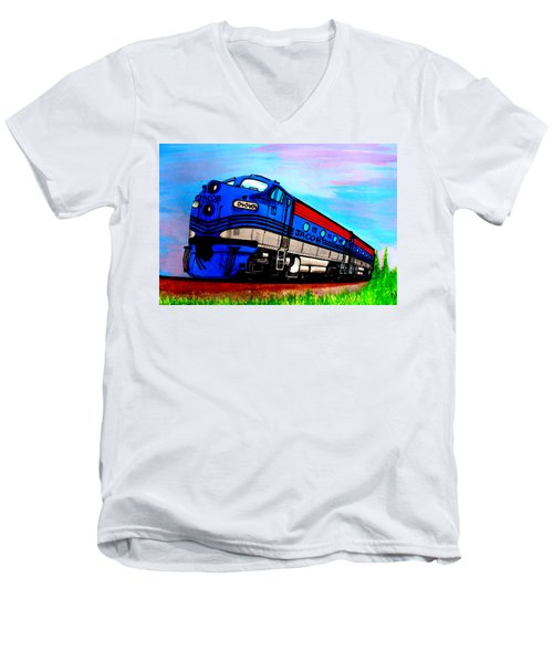 Jacob The Train Men's V-Neck T-Shirt