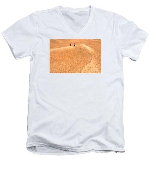 Jaisalmer Desert Festival-4 Men's V-Neck T-Shirt
