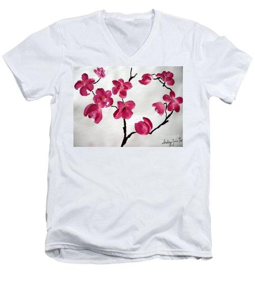 Japanese Tree Men's V-Neck T-Shirt