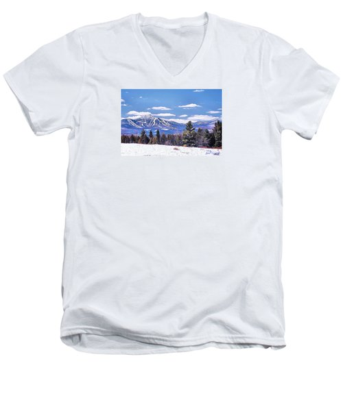 Jay Peak Men's V-Neck T-Shirt