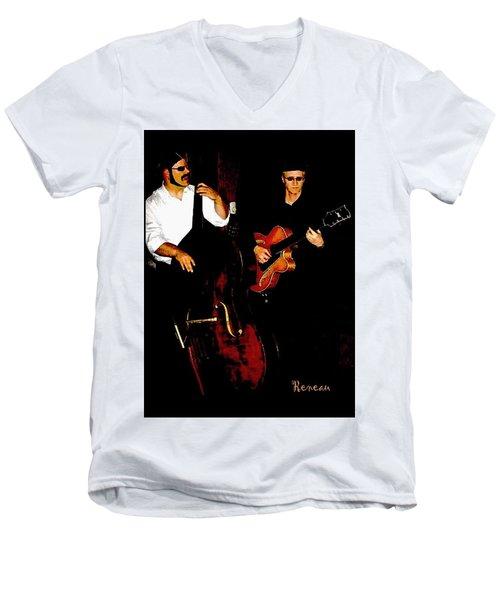 Jazz Musicians Men's V-Neck T-Shirt