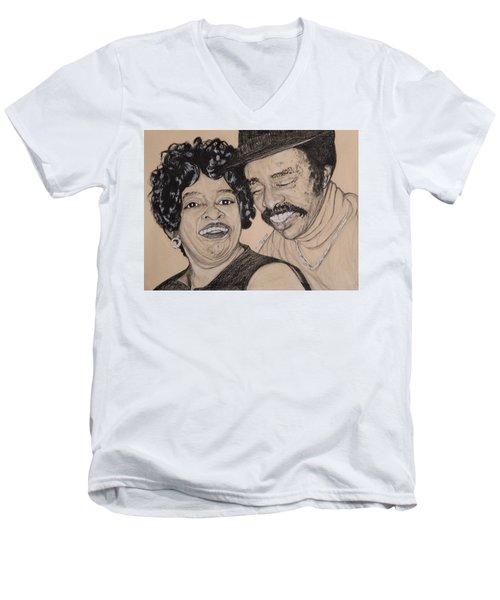Jb  Wg Portrait Men's V-Neck T-Shirt