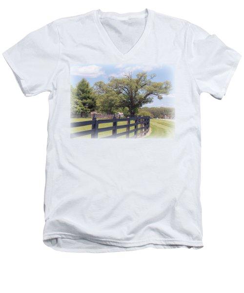 Jefferson Landing Series No. 1 Men's V-Neck T-Shirt