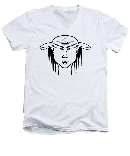 Jenifer Men's V-Neck T-Shirt