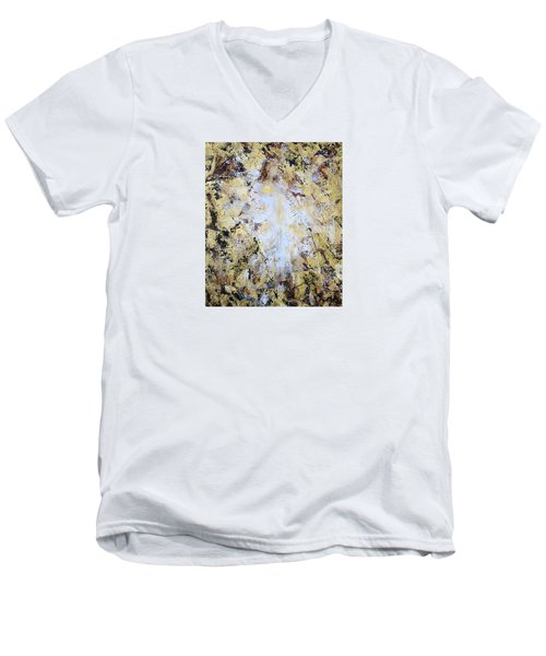 Jesus In Disguise Men's V-Neck T-Shirt by Kume Bryant