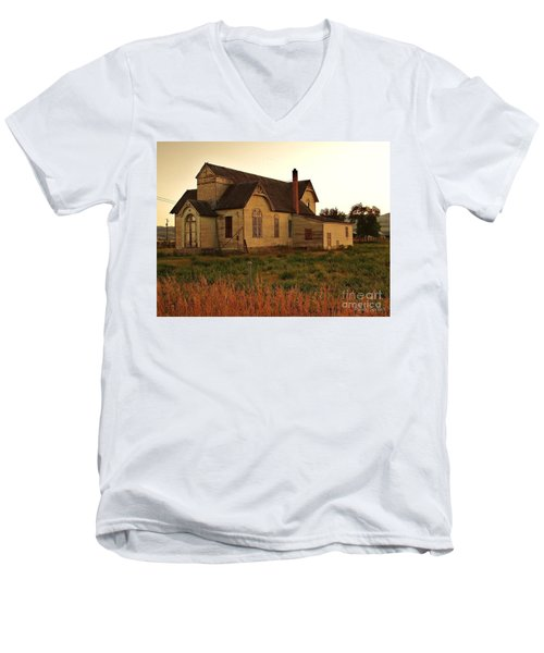Jesus Wept Men's V-Neck T-Shirt