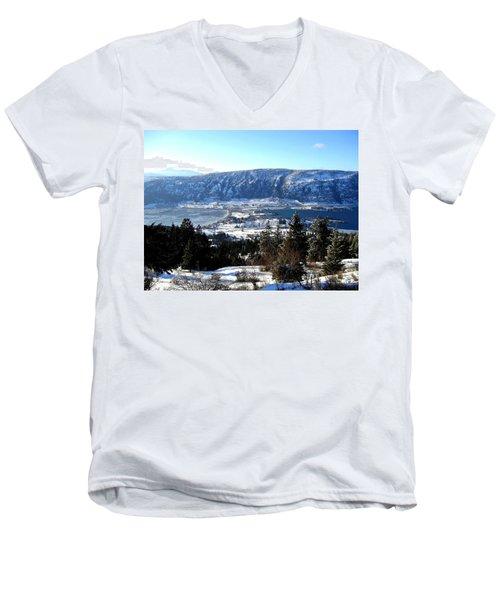 Jewel Of The Okanagan Men's V-Neck T-Shirt