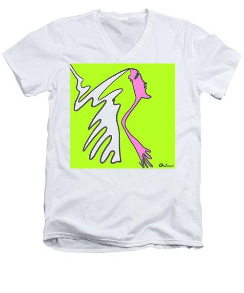 Jiggy Men's V-Neck T-Shirt