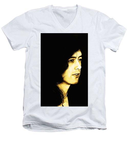 Jimmy Page Men's V-Neck T-Shirt