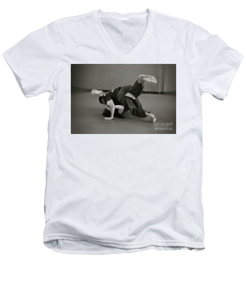 Jiu Jitsu Men's V-Neck T-Shirt